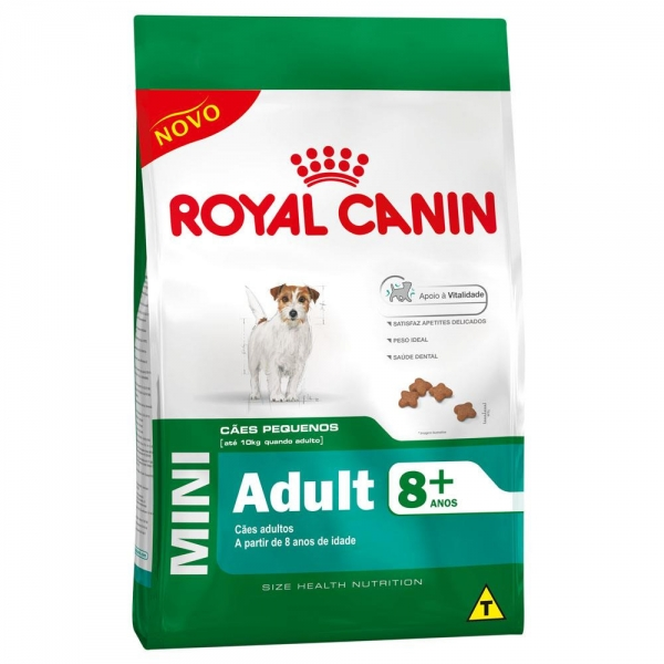 Royal Canin Canine Mini Adult 8+ - 7,5kg / Venc; 20/02/2020