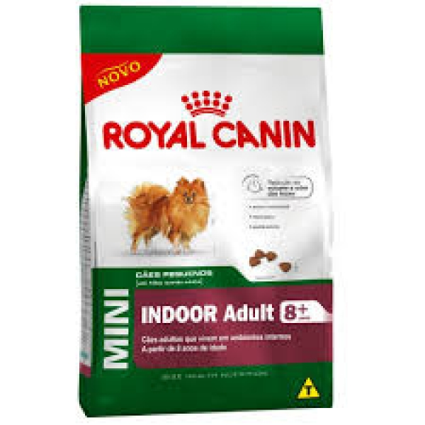 Royal Canin Canine Mini Indoor 8+ -  7,5kg - Venc 31/01/20