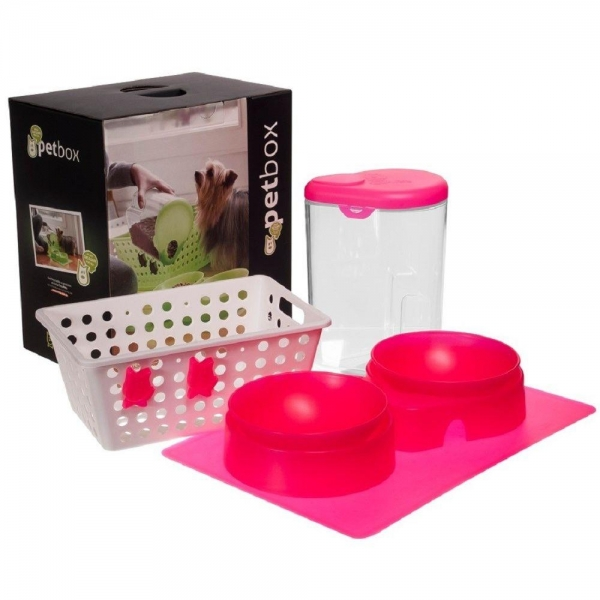 Pet Box Coza Pets - Rosa